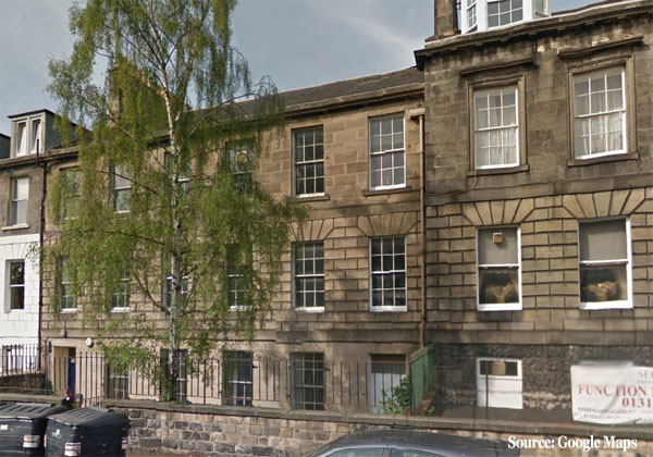 Boutique hotel proposed at 3 5 smith 39 s place edinburgh for Boutique hotels uk