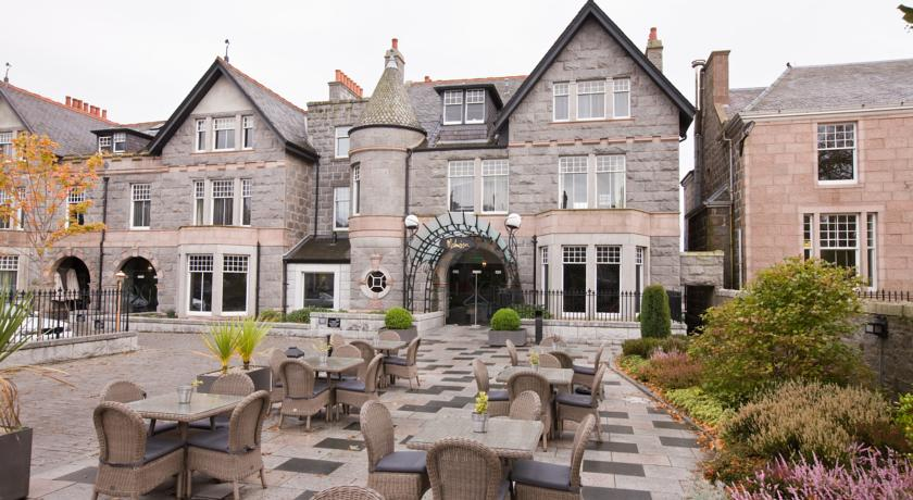 Aberdeen boutique hotels boutique b bs places to stay for Small hotels of the world uk